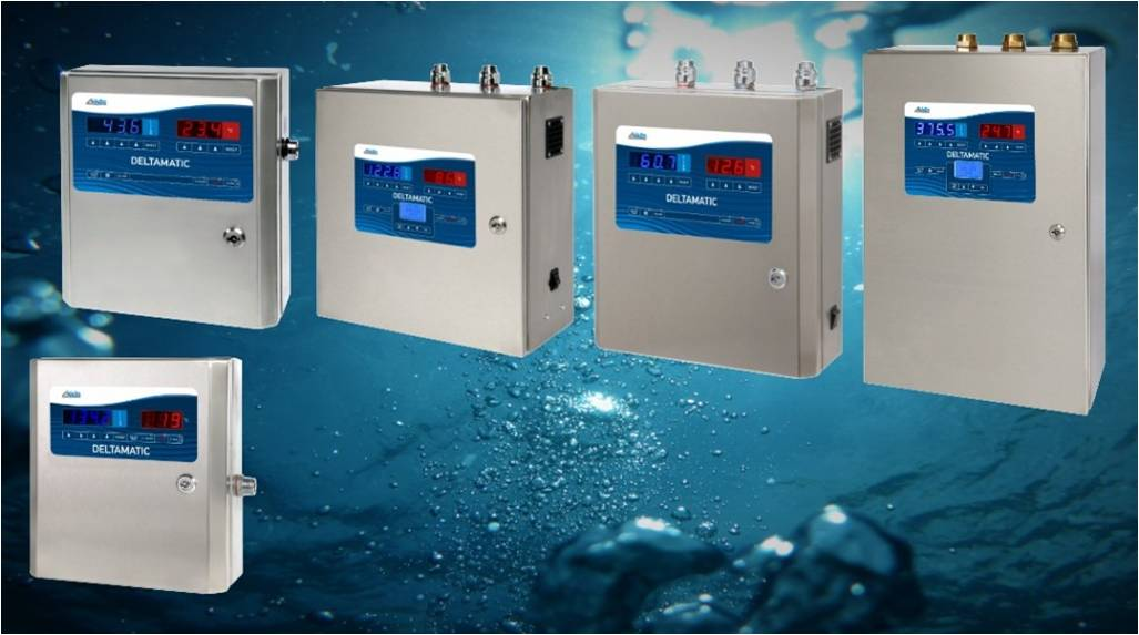 Velika izbira naprav za doziranje in mešanje vode