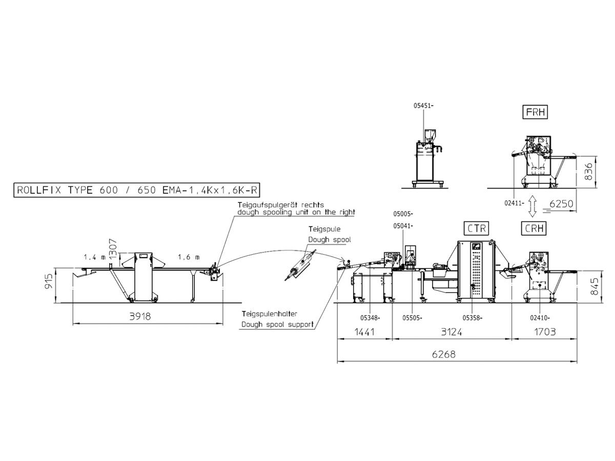 Linija za oblikovanje rogljičkov CTR-02