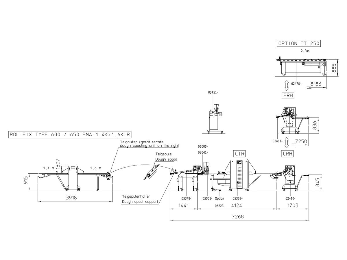 Linija za oblikovanje rogljičkov CTR-04