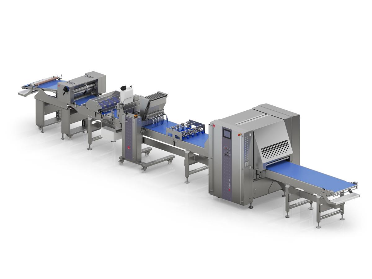 Linija EUROLINE za večje potrebe po avtomatizaciji   proizvodnje.
