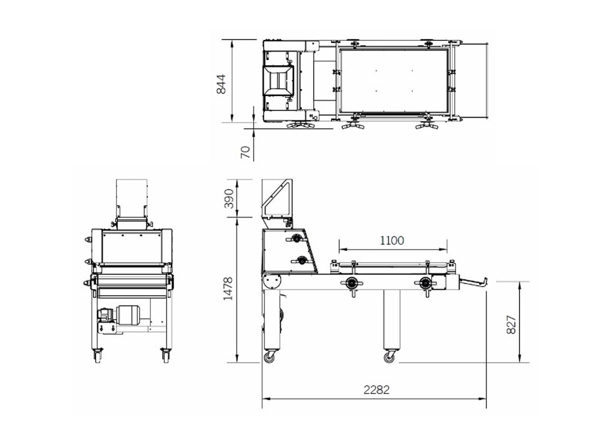 MO-300 – stroj za vzdolžno oblikovanje testa-02
