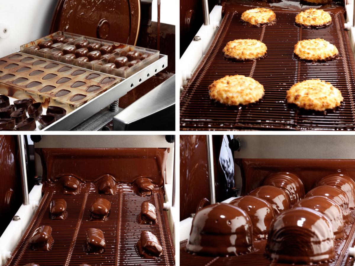 Namizna naprava za čokoladiranje E220-01
