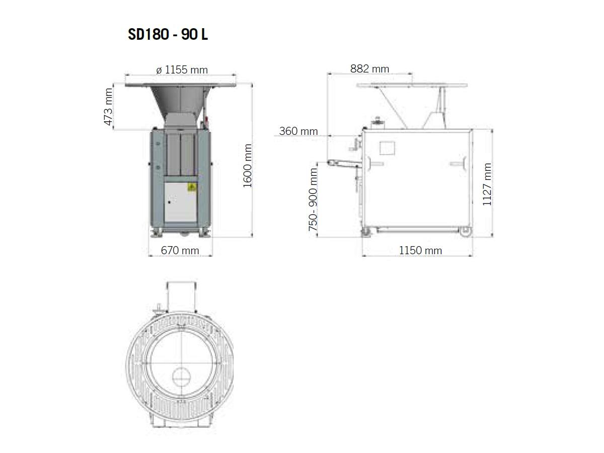 SD180 - 90l