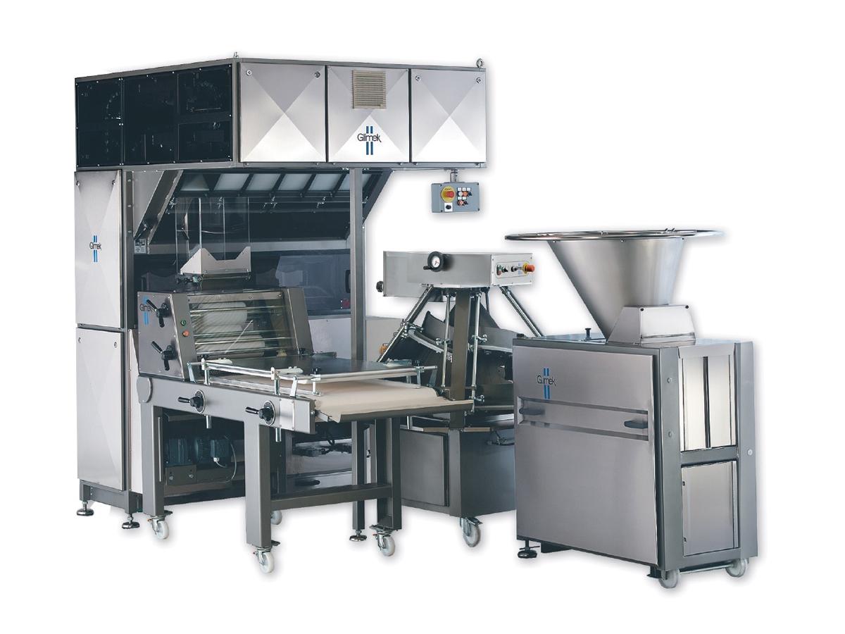 Glimek FBL180 - linija za proizvodnjo kruha