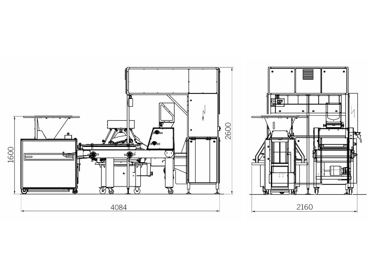 Stroji in linije za oblikovanje kruha in peciva Glime-Glim-FBL180-02