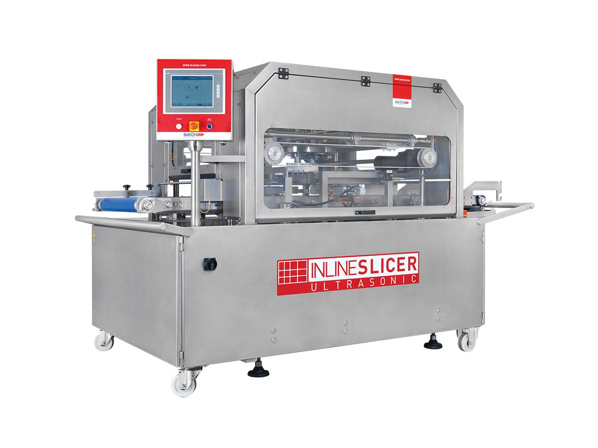Ultrazvočni stroj za rezanje tort in različnih slaščic BAKON INLINE-02