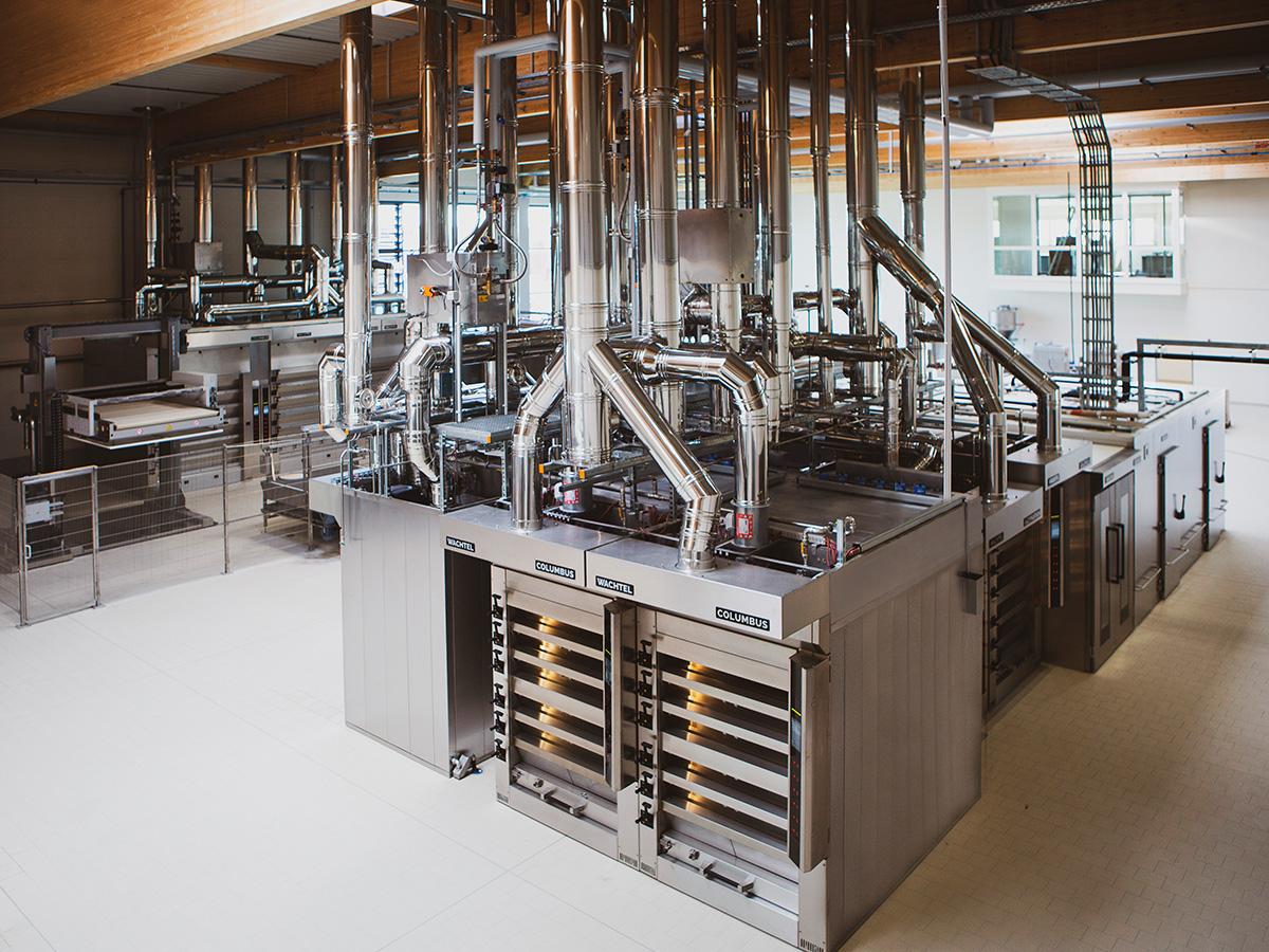 Ciklotermične etažne pekarske peči COLUMBUS-04