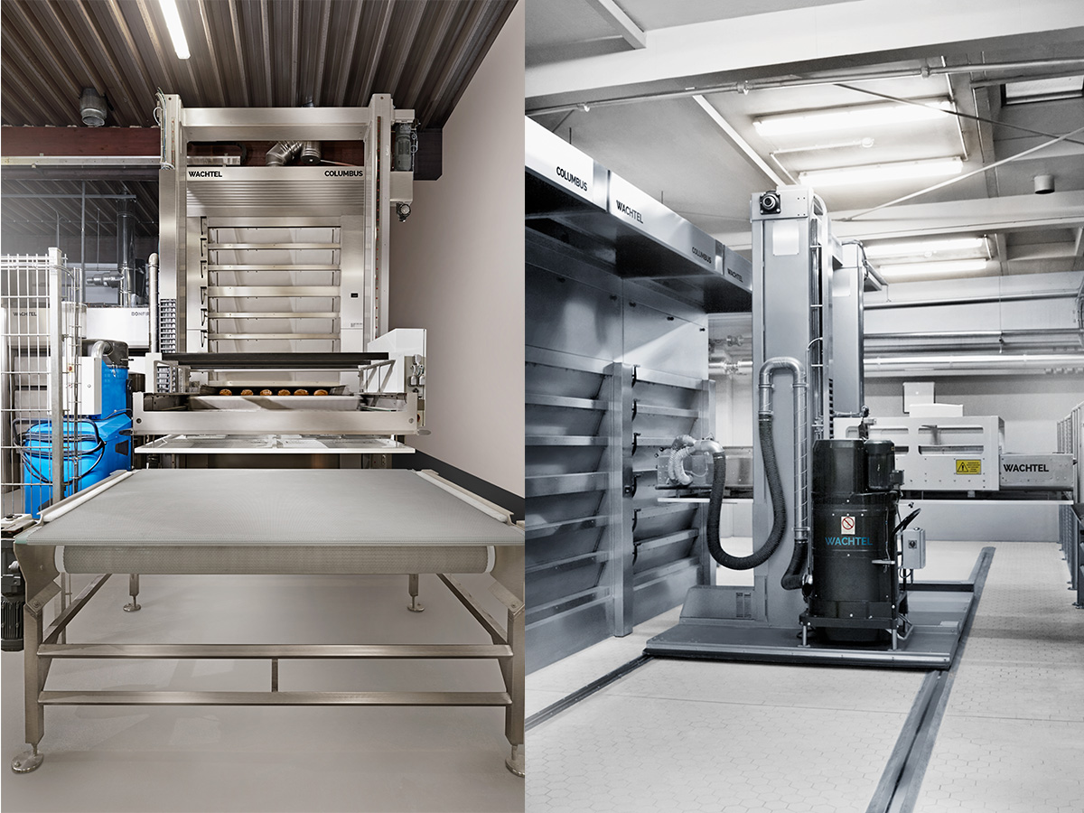 Ciklotermične etažne pekarske peči COLUMBUS-06