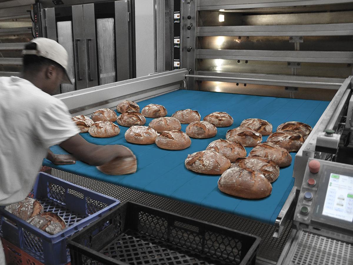 Ciklotermične etažne pekarske peči COLUMBUS-07