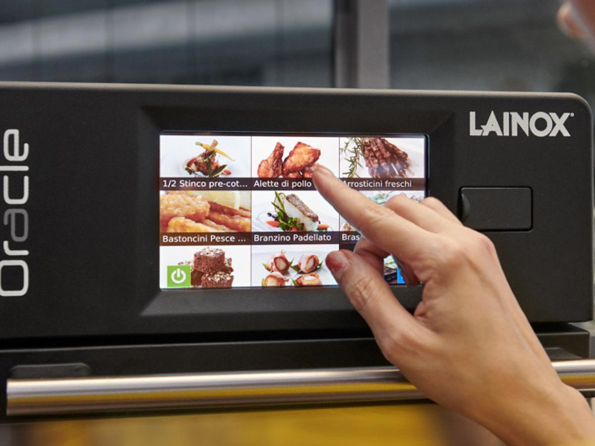 Parni konvektomat za hitro kuhanje in peko  Lainox ORACLE-2